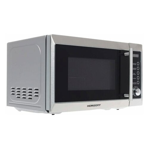 Микроволновая печь HORIZONT 20MW800-1479BFS объем 20 л мощность 800 Вт электронное управление гриль белая 1 шт.