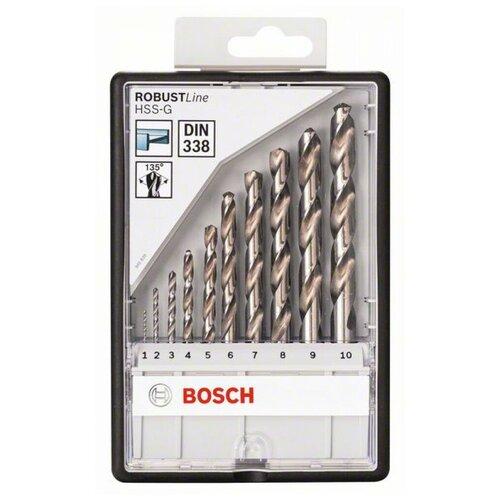 Фото - Набор сверл BOSCH Robust Line 2.607.010.535 набор сверл bosch robust line multi construction 2 607 010 543
