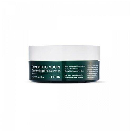 Купить JayJun Okra Phyto Mucin Deep Hydrogel Facial Patch Гидрогелевые патчи для лица с фитомуцином, JAYJUN COSMETIC