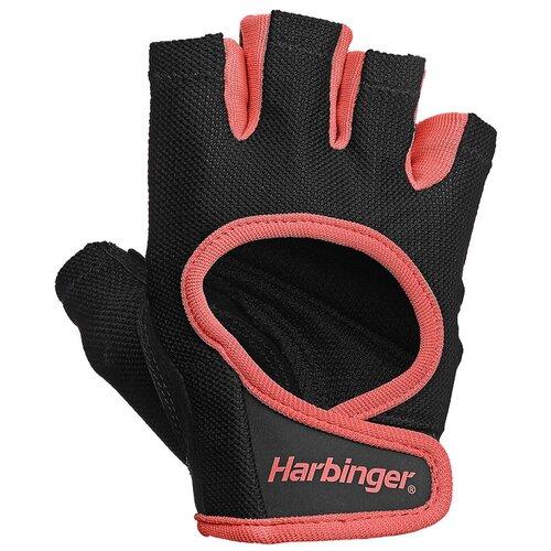 Перчатки Harbinger Power, женские, коралловые, размер S женские перчатки harbinger flexfit размер s черные