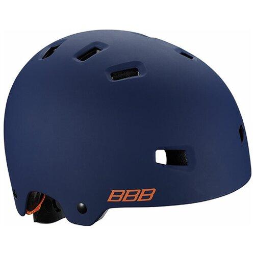 Велошлем BBB 2018 Billy, цвет: синий матовый, оранжевый. Размер S пряжа bbb filati пряжа bbb filati big star цвет 15 т синий