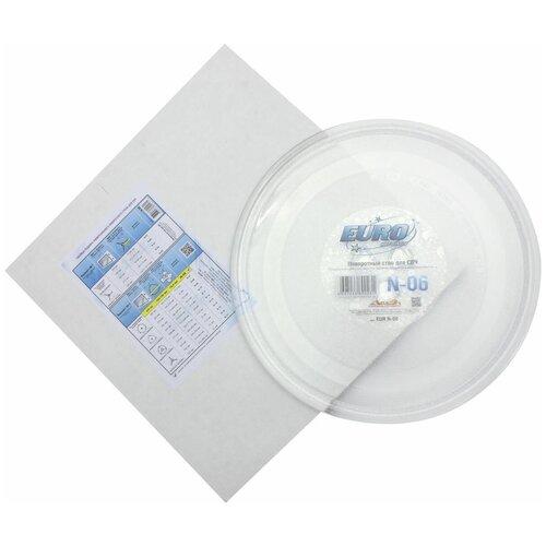 Тарелка для СВЧ EURO Kitchen EUR N-06