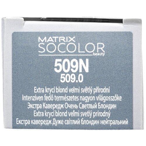 Купить Matrix Socolor Beauty стойкая крем-краска для волос Extra coverage, 509N очень светлый блондин, 90 мл