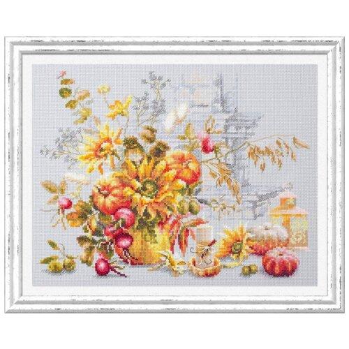 Набор для вышивания Чудесная Игла 120-012 Осенняя импровизация 32 х 25 см чудесная игла набор для вышивания пионы для умелицы 25 х 25 см 100 124