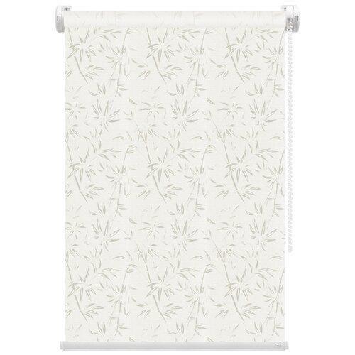 Рулонная штора FixLine Tropical (магнолия), 75х180 см
