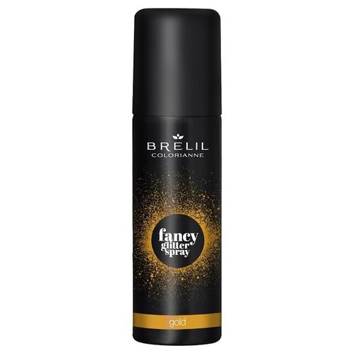 Купить Brelil Professional Fancy Glitter Spray спрей-блеск для волос Gold, 75 мл