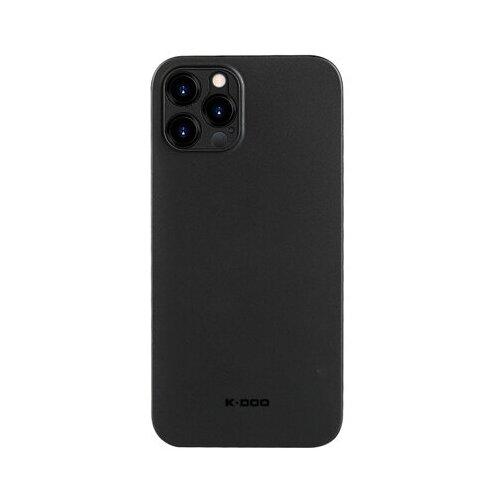 Чехол K-DOO Серии Air Skin для iPhone 12 pro max Черный (Полипропилен)