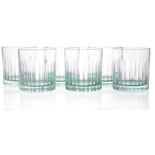 Набор стаканов для виски RCR Gipsy Зелёные 360 мл (6 шт) набор стаканов для виски rcr riflessi bicolour цветные 300 мл 6 шт