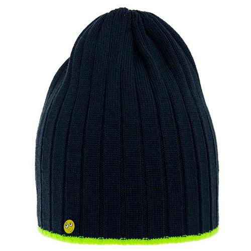 Шапка бини mialt размер 50-54, темно-синий шапка бини playtoday размер 50 темно синий