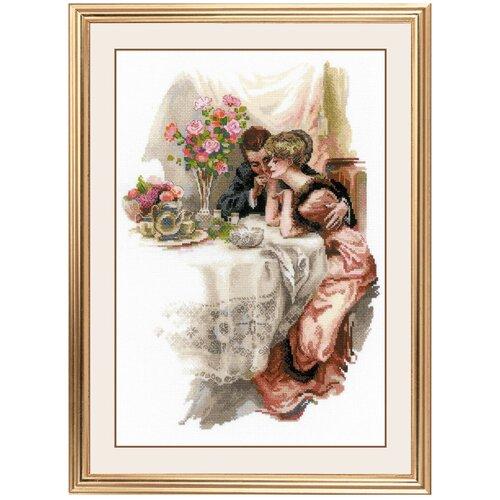 Риолис Набор для вышивания крестом Первый вечер в собственном доме по мотивам картины Х. Фишера 30 х 42 (1774)