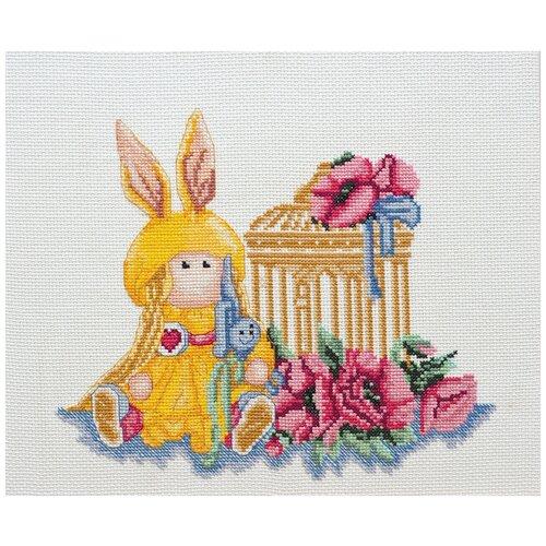 Купить ABRIS ART Набор для вышивания Куколка 25 х 25 см (AH-045), Наборы для вышивания