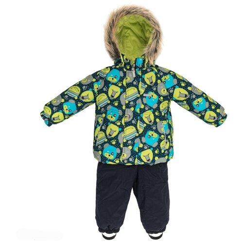 Купить Комплект для мальчиков ZOOMY K19415-1049, Kerry, Размер 86, Цвет 1049-лимонный принт, Комплекты верхней одежды