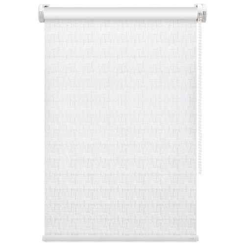 Рулонная штора FixLine Twist (белый), 70х180 см