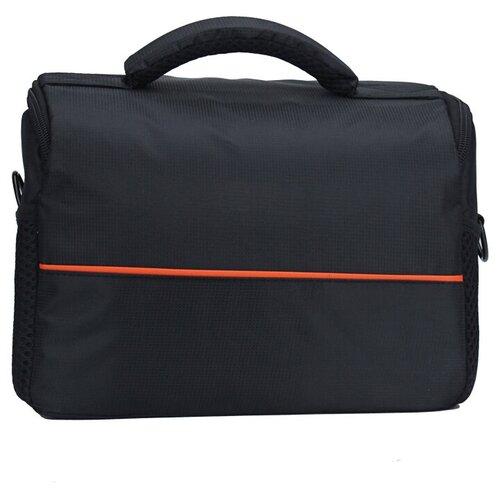 Чехол-сумка MyPads TC-1335 для фотоаппарата Sony Cyber-shot DSC-HX200/ RX10 из качественной износостойкой влагозащитной ткани черный