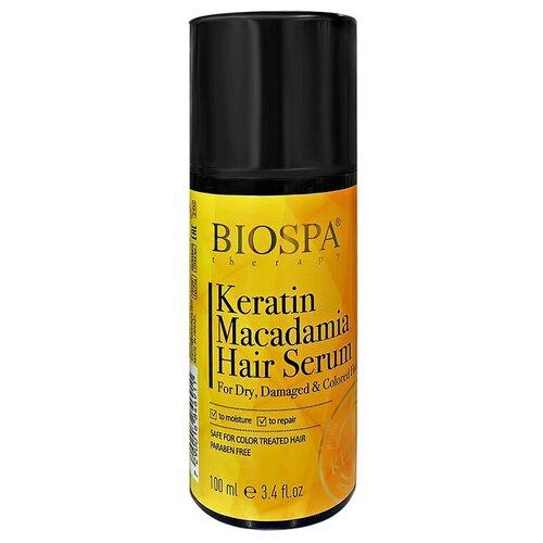 Сыворотка для волос `SEA OF SPA` `BIOSPA` с кератином и маслом макадамии (масляная) 100 мл сыворотка для лица sea of spa sea of spa se047lwdjgx6