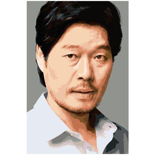 Купить Картина по номерам Ю Джэ Мён, 80 х 120 см, Красиво Красим, Картины по номерам и контурам