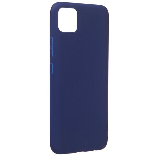 Фото - Чехол Zibelino для Realme C11 Soft Matte Blu ZSM-RLM-C11-BLU чехол zibelino для realme c11 soft matte blu zsm rlm c11 blu