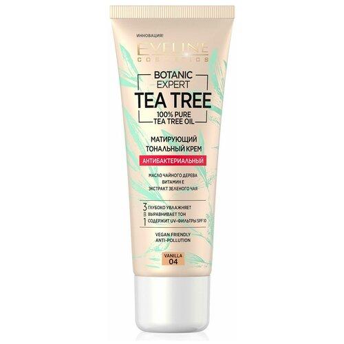 Купить Eveline Cosmetics Тональный крем Botanic Expert Tea Tree, 30 мл, оттенок: 04 vanilla