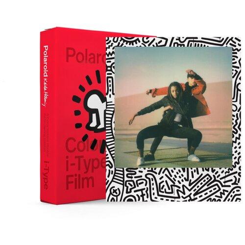 Фото - Картридж Polaroid Color Film for i-Type — Keith Haring 2021 Edition картридж polaroid duochrome film 600 black