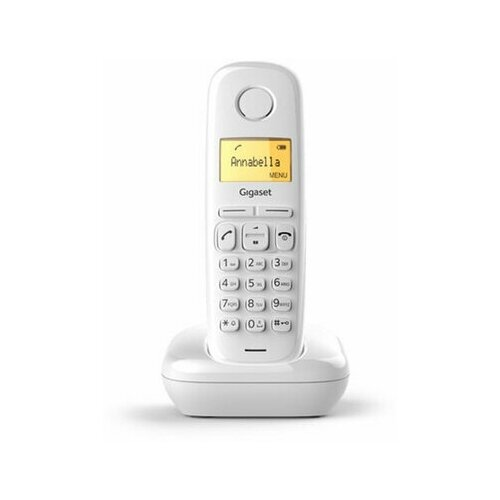 Радиотелефон GIGASET A170 память 50 номеров АОН повтор часы белый S30852H2802S302 1 шт.