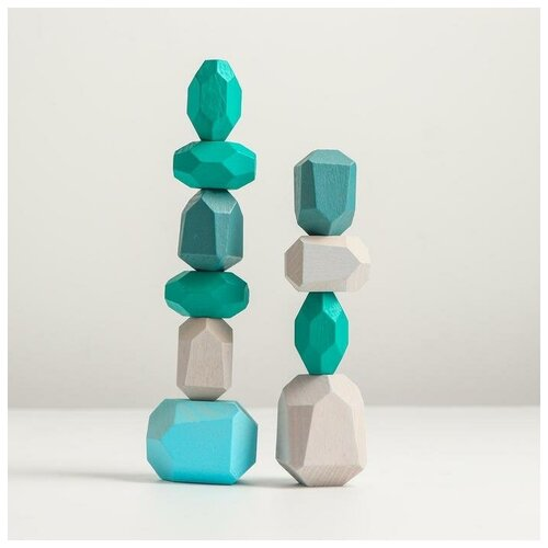 Набор деревянных камней