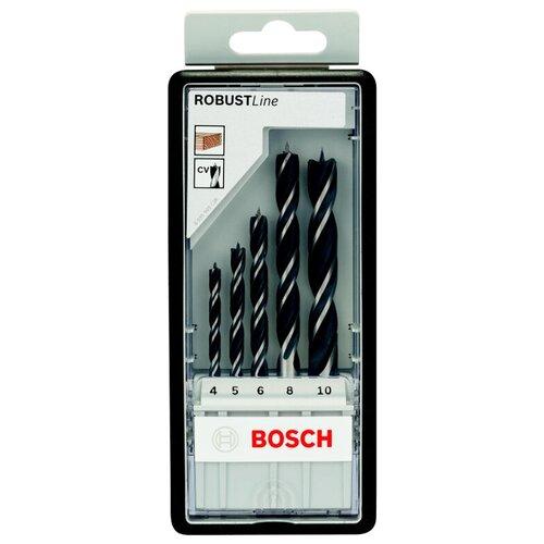 Фото - Набор сверл BOSCH Robust Line 2.607.010.527 набор сверл bosch robust line multi construction 2 607 010 543