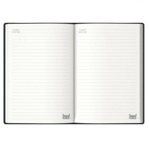 Фото - Записная книжка, А6+, 60 листов, цвет: графитовый записная книжка феникс а6 102 148мм