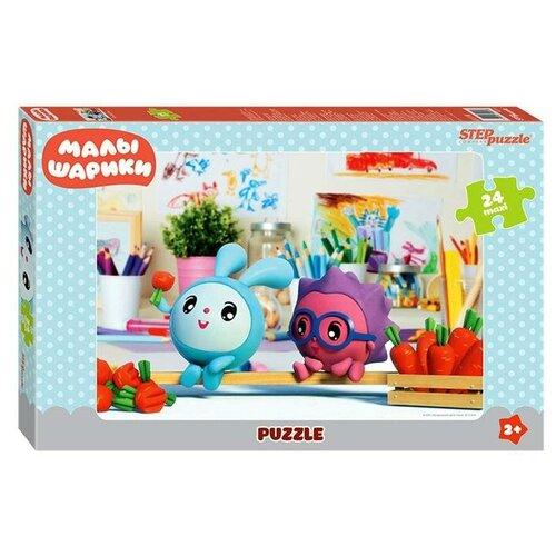 Купить Степ Пазл Макси-пазл «Малышарики», 24 элемента, Step puzzle, Пазлы