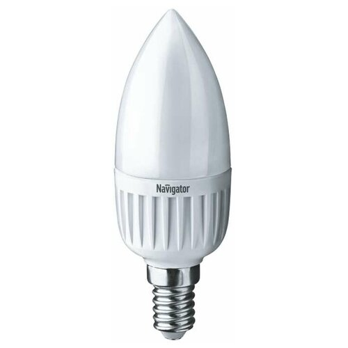 Лампа светодиодная 94 491 NLL-C37-7-230-2.7K-E14-FR 7Вт свеча 2700К тепл. бел. E14 525лм 176-264В Navigator 94491 (упаковка 10 шт)