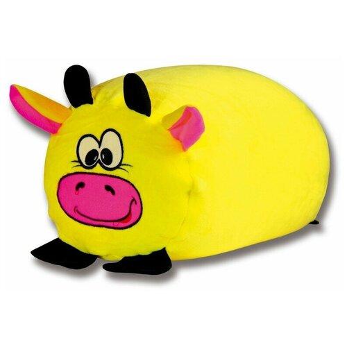 Купить Антистрессовый валик-пуфик Штучки, к которым тянутся ручки Звери Коровка, Мягкие игрушки