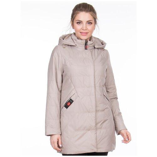 Фото - Куртка KarunA, размер 48, бежевый куртка icepeak 650010588iv размер 140 бежевый