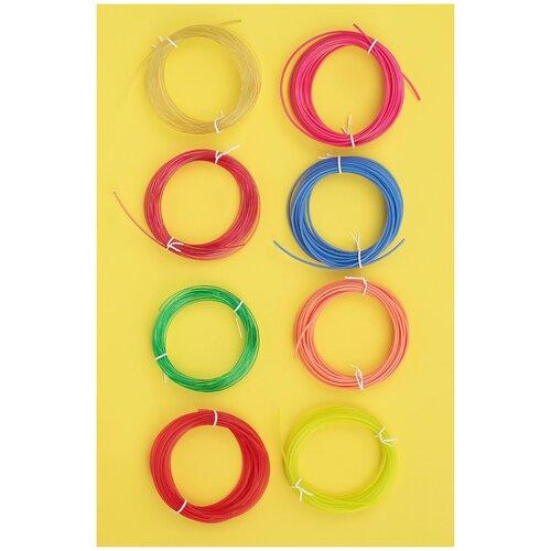 Пластик PLA STEMDOC безопасный для 3д-ручек, 8 цветов по 5 метров
