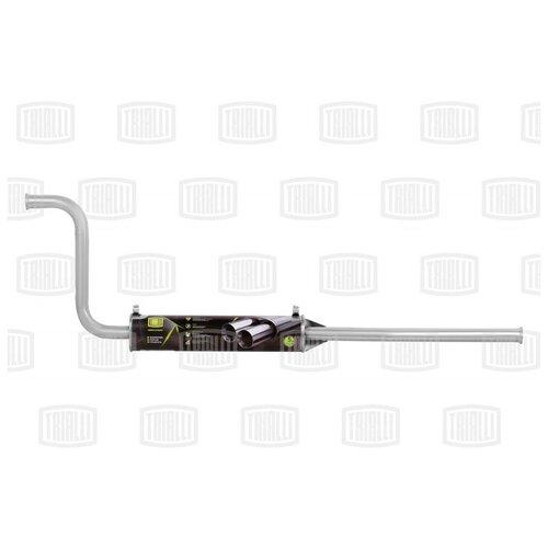 Глушитель дополнительный ВАЗ-2108 TRIALLI EAM0107 алюминизированный