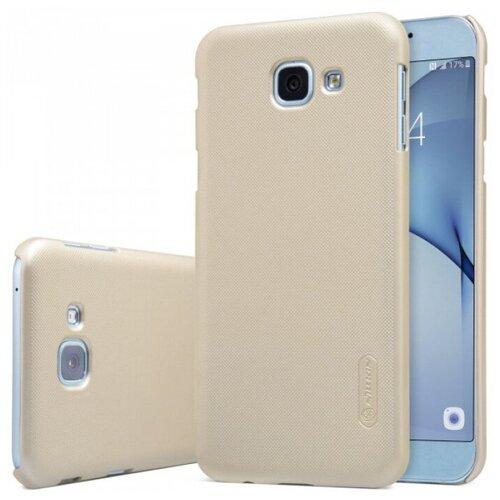 Фото - Nillkin Super Frosted Shield Матовый чехол для Samsung A810 Galaxy A8 (2016) (+ пленка) чехол для samsung galaxy a10 2019 sm a105 nillkin super frosted shield case черный