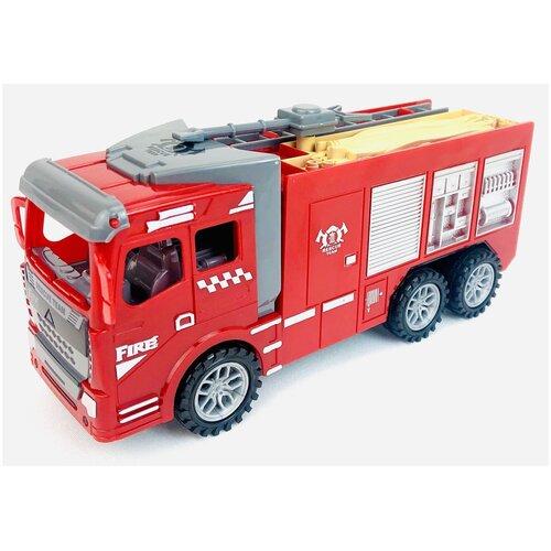 Купить Инерционная пожарная машина 168-1 Firerescue, 22х11х7.5 см, Play Smart, Машинки и техника