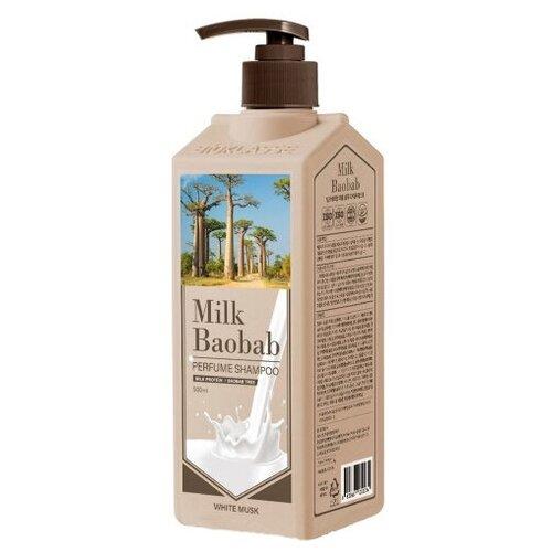 Купить MB PWS Шампунь MilkBaobab Perfume Shampoo White Musk 500мл, Milk Baobab