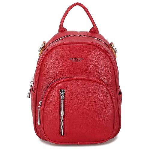Маленькая женская сумка-рюкзак «Инса» 1255 Red