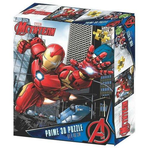Купить Пазл Super 3D Мстители 500 элементов, Prime 3D, Пазлы