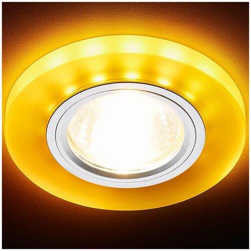 светильник ambrella light s214 wh ch wh led Встраиваемый светодиодный светильник Ambrella light Led S214 WH/CH/YL