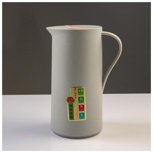 Фото - Термос-кофейник Take it easy 1 л, стеклянная колба, сохраняет тепло 24 ч термос колумб 4 л сохраняет тепло 24 ч 15х39 8 хром 5256200