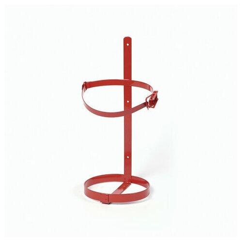 Кронштейн ТВ2, настенный/транспортный, с защелкой, для огнетушителей ОП-2, d-110 мм, ярпож, 0198, УТ-00000198, 1 шт.