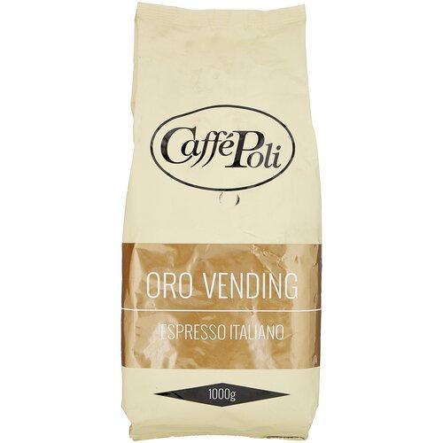 Кофе в зернах Caffe Poli Oro Vending, 1 кг кофе в зернах oro caffe cremoso 1 кг