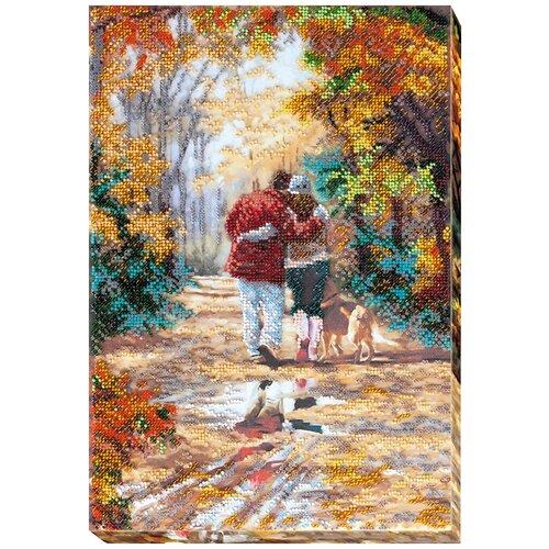 Купить ABRIS ART Набор для вышивания бисером Минорное настроение 25 х 36 см (AB-668), Наборы для вышивания