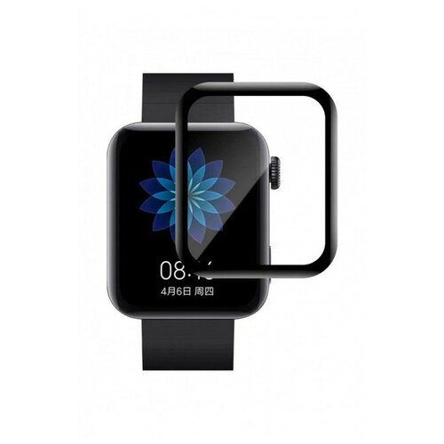 Аксессуар Полимерное защитное стекло Red Line для Xiaomi Mi Watch Lite PMMA 3D Black УТ000024593