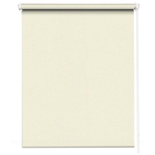 штора рулонная плайн 80х175 см кремовый Рулонная штора MROLLS J21 (кремовый), 80х175 см