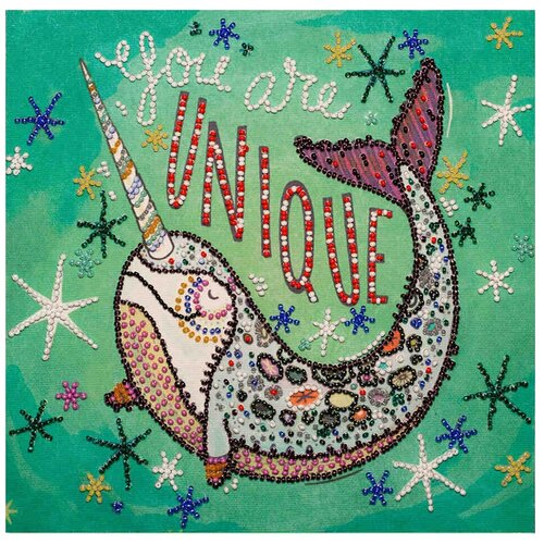 Купить ABRIS ART Набор для вышивания бисером Неповторимый... 20 x 20 см (АМВ-053), Наборы для вышивания