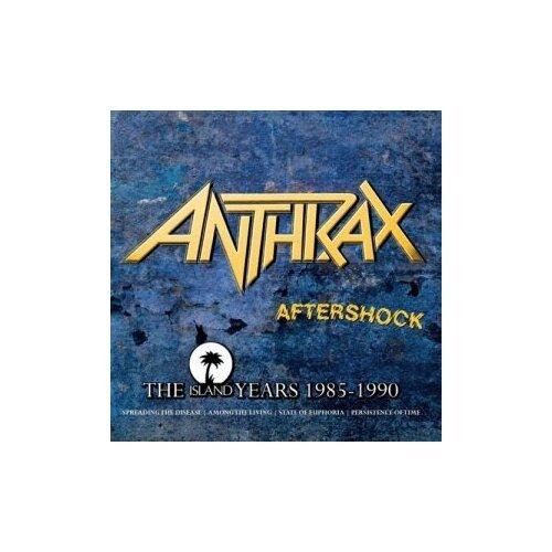 Компакт-диски, Island Records, ANTHRAX - Aftershock - The Island Years (4CD)