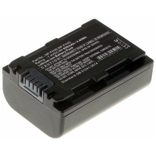 Фото - Аккумулятор iBatt iB-B1-F283 650mAh для Sony NP-FH50, NP-FH40, NP-FH60, NP-FH70, NP-FH100, NP-FH30, NP-FH120, NP-FH90, iB-F324, vpl fh60