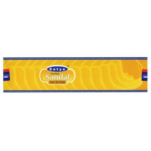 Благовония Супер Сандал Сатья (Satya Super Sandal), 90 грамм