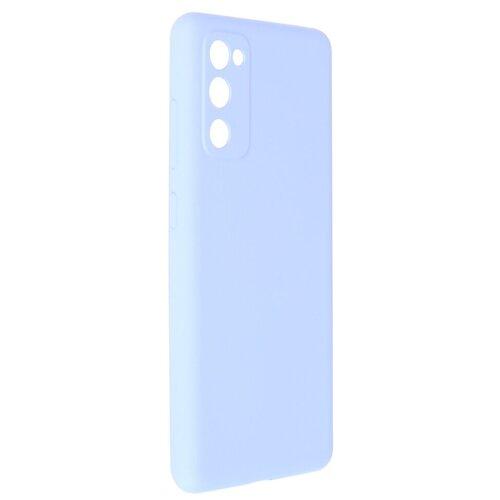 Чехол Pero для Samsung S20 FE Liquid Silicone Light Blue PCLS-0042-LB
